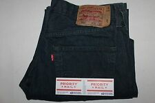 2756 MENS LEVIS 501 BUTTON FLY STRAIGHT FIT BLUE JEANS ACT SZ(36X32)TAG(36X32)