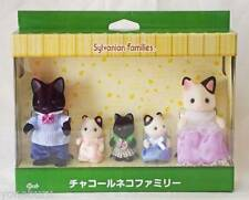 Sylvanian Families Calico Critters charcoal cat family japanese Morinoie limited