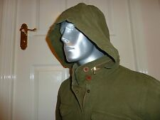 """BNWT LEVIS HOODED OLIVE """"FIELD JACKET"""" UNISEX Size L, 44"""" CHEST CASUAL/FESTIVAL"""