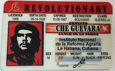 Che Guevara - Revolutionary / Drivers License  Novelty