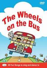 Wheels On The Bus DVD - 20 Childrens, Kids, Nursery Rhymes, Songs, Music **NEW**