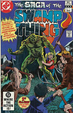 DC Comics Saga of Swamp Thing complete issues 1 to 12 1982 most Near Mint