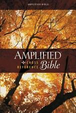 Amplified Cross-Reference Bible by Zondervan (2014, Hardcover)