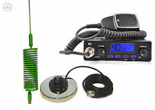 CB RADIO TTI 550 CB ANTENNA SPRINGER GREEN + MAGNETIC MOUNT CB STARTER KIT