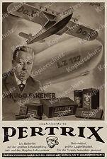 Pilot Reklame Pertrix Zeppelin LZ 127 Eckener Dornier Do X Luftfahrt Berlin 1930
