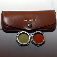 Polaroid 541 Filter Kit - Orange & Yellow with Case