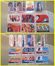 Italian telephone cards stock n°1 (Telecom Italia SIP Lire vintage)