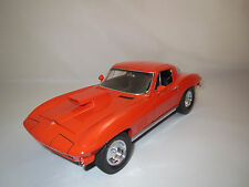 Motorbox/Exoto  Chevrolet Corvette  Sting Ray  (orange) 1:18  ohne Verpackung !