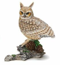 Country Artists Great Horned Owl Figurine RETIRED NIB