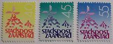 Stadspost Zaanstad 1984 - 3 zegels Molens, Muhlen, Mills
