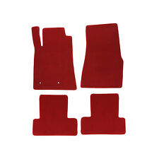 2005-2010 Ford Mustang Floor Mats Red