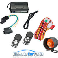 Remote Central Locking Car Alarm And Immobiliser With Electric Boot Release s080
