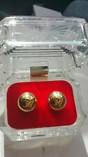 Ben Wa Duo-Tone Exerciser Gold Balls  + Climax Sex Enhancer,kegal balls