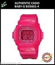 New Authentic Casio Baby-G BG5601-4 Hyper Pink Digital Watch
