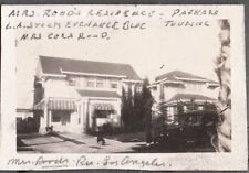 1925 MRS. ROOD'S RESIDENCE LOS ANGELES CALIFORNIA STOCK EXCHANGE BLDG OLD PHOTO
