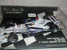 NEW MINICHAMPS 1:43 ~ N. Heidfeld ~ BMW Sauber F1.06 ~ F1 ~ GP 2006 Limited!