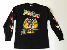 JUDAS PRIEST LONG SLEEVE SHIRT VINTAGE CONCERT TEE TOUCH OF EVIL MENS BLACK