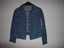 Womens Nordstroms Halogen Classic Denim Jean Jacket Size XS Made In Canada!