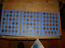 collection wheat penny's1909 vdb -1940 rare set of  nice lincoln cents p d s