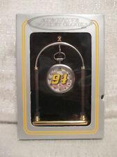Sun Time Bill Elliot #94 Executive Sports Pocket Clock Racing Nascar
