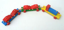 Wooden Toy  Trailer & 4 wooden cars ,Solid beech & pine ,