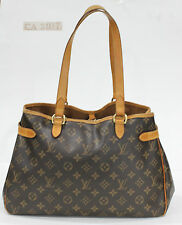 Used Authentic Louis Vuitton LV Bag Batignolles Monogram gds17