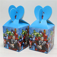 12pcs Avengers Theme Candy Box Kids Birthday Party Supplies Favors Gifts  Bag
