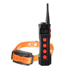 Aetertek 1KM Waterproof Rechargeable LCD Remote Dog Training Collar Anti Bark