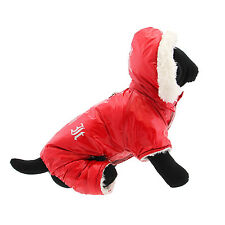 DOG COAT maltese poodle westie doxie DESIGNER DOG SNOW SUIT JACKET USA SELLER
