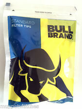 2 x Bags of BULL BRAND STANDARD SIZE 'CHUNKY' 8mm CIGARETTE TOBACCO FILTER TIPS