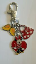 Minnie mouse keyring. Shoes and bag charms
