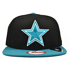 Dallas Cowboys New Era Black/Teal Snapback 9Fifty NFL Hat