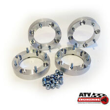 "(4) 4"" 4/156 ATV Wheel Spacers - Polaris RZR Sportsman Ranger Yamaha - 4x156 2.0"