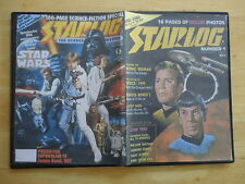 STARLOG Magazine issues 1-  224 on DVD Complete .cbr file format sci-fi movie TV
