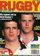 Rugby World Magazine Octubre 1993-Hawick, Newcastle Gosforth, Ruskin Park