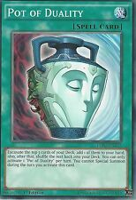 3 X YU-GI-OH CARD: POT OF DUALITY - LDK2-ENY34 - 1st EDITION