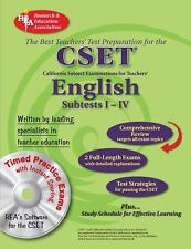 CSET Teacher Certification Test Prep: English Subtests Vols. 1-4 by Research & …