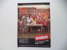 advertising Pubblicità 1987 CUCINE SCAVOLINI e LORELLA CUCCARINI
