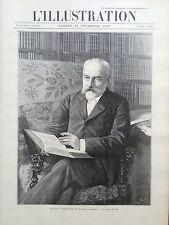 L'ILLUSTRATION 1897 N 2859 M.ANDRE THEURIET, DE L' ACADEMIE FRANCAISE