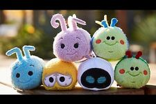 Disney USA Tsum Tsum Pixar A Bugs Life Wall-E Eve Set Of 6 BRAND NEW WITH TAGS!