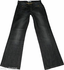 Tom Tailor Loose Fit Jeans  W29 L34  Dark Blue  Bootcut  Stretch  Used Look