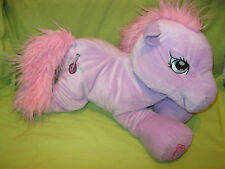 "Hasbro 2004 My Little Pony G3 Lavender Purple & Pink SWEETSONG 20"" Large Plush"