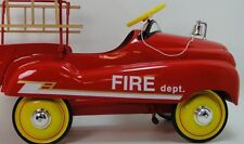Fire Truck Pedal Car Chevy Custom Rare Vintage Classic Fire Truck Midget Model
