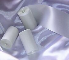 3 **NEW** White Bridal Wedding Car Party Ribbons 6m FREE DELIVERY ** BARGAIN **