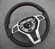 Mercedes C204 CLS SLK GLK A W176 B W246 E212 W207 CLA flat bottom steering wheel