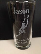 Engraved Rugby  Pint Glass - Free Personalisation - New