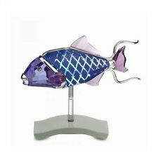 SWAROVSKI COPORITA #626200 BRAND NIB BEAUTIFUL BLUE FISH RARE RETIRED PARADISE