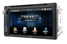 "Farenheit TI-651B Double Din DVD/CD/WMA Player 6.5"" Touchscreen Bluetooth Remote"