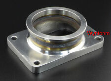"T6 GT5533R GT5541R Diesel Turbo Inlet To 3"" V Band Stainless Tapped Adp Flange"