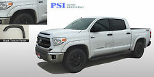 BLACK TEXTURED Pocket Rivet Bolt Fender Flares 2014-2016 Toyota TUNDRA Full Set